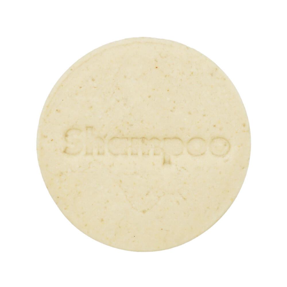 Festes Shampoo für mehr Volumen mit Kokosmilch und Conditioner