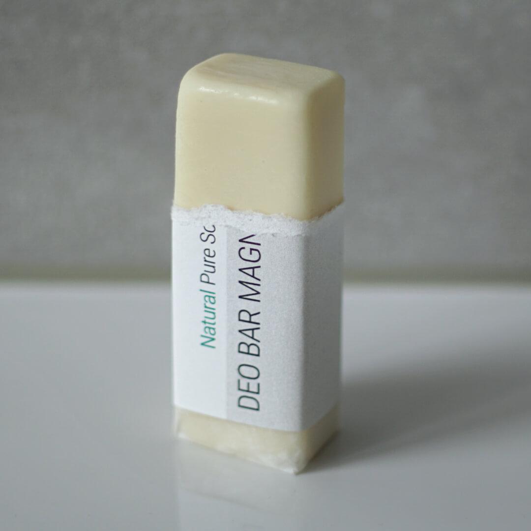 Deo Bar Anwendung, Deo Stick Naturkosmetik ohne Aluminium mit natürlicher Formulierung