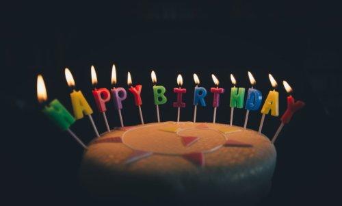 Geschenkgutschein Happy Birthday